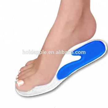 b4d2492759 Silicone Insoles Plantar Fasciitis Shoe Inserts for Foot Massage Soft Gel  Arch Support Orthopedic Foot Care
