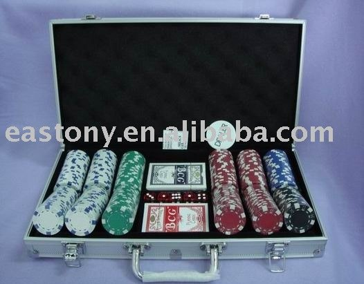 Poker Chip Set ET-10D-A300