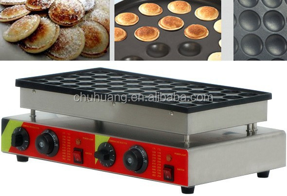 Single Plate 100pcs mini Poffertjes Grill/Waffle maker