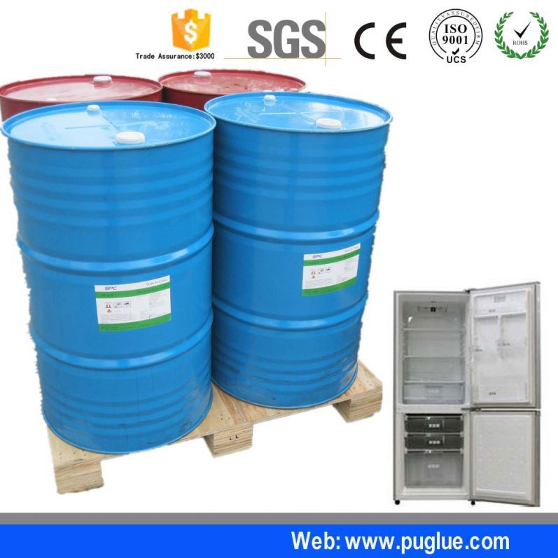 Top isocyanate exposure treatment two component polyurethane foam