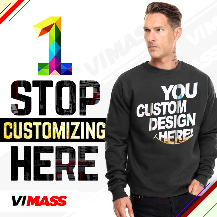 Personalized hoodies no minimum