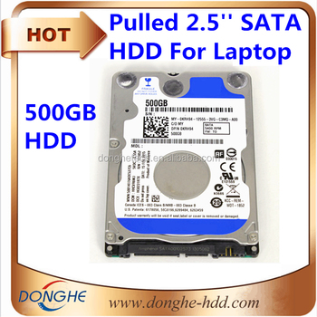 Internal hard disk 500gb with price 2.5 SATA 6Gb/s 8MB used laptop hard disk drive