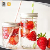 Ball 8 oz. Quilted Jelly Canning Jars for Sale