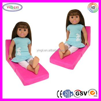 A880 American Girl Doll Living Room Chairs Stuffed Soft Clip Doll Chair