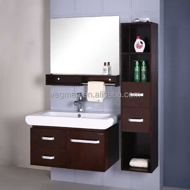 cheap pvc bathroom wash basin cabinet with bathroom wall cabinet designs