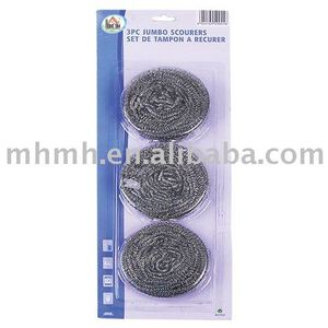 Spiral Galvanized Scourer (zinc coated wire)