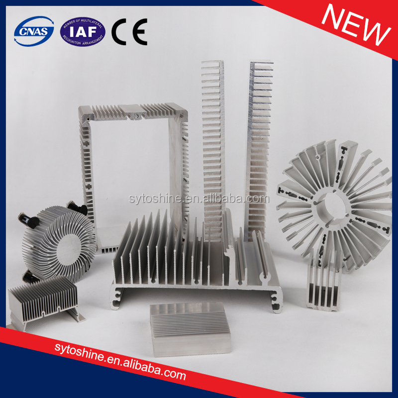 Hot Sale new AL 6063 t5 aluminum extrusion heatsink from manufacturer/supplier/exporter
