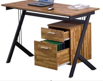 Ufficio K : Mobili per ufficio foto piano in legno scrivania con cassetti