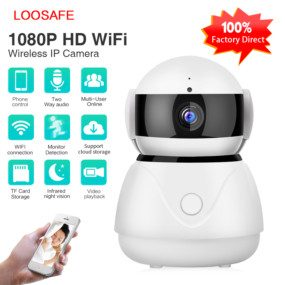 Alta qualità 1080 P Cloud Storage WIFI p2p ip camera wireless home Security camera