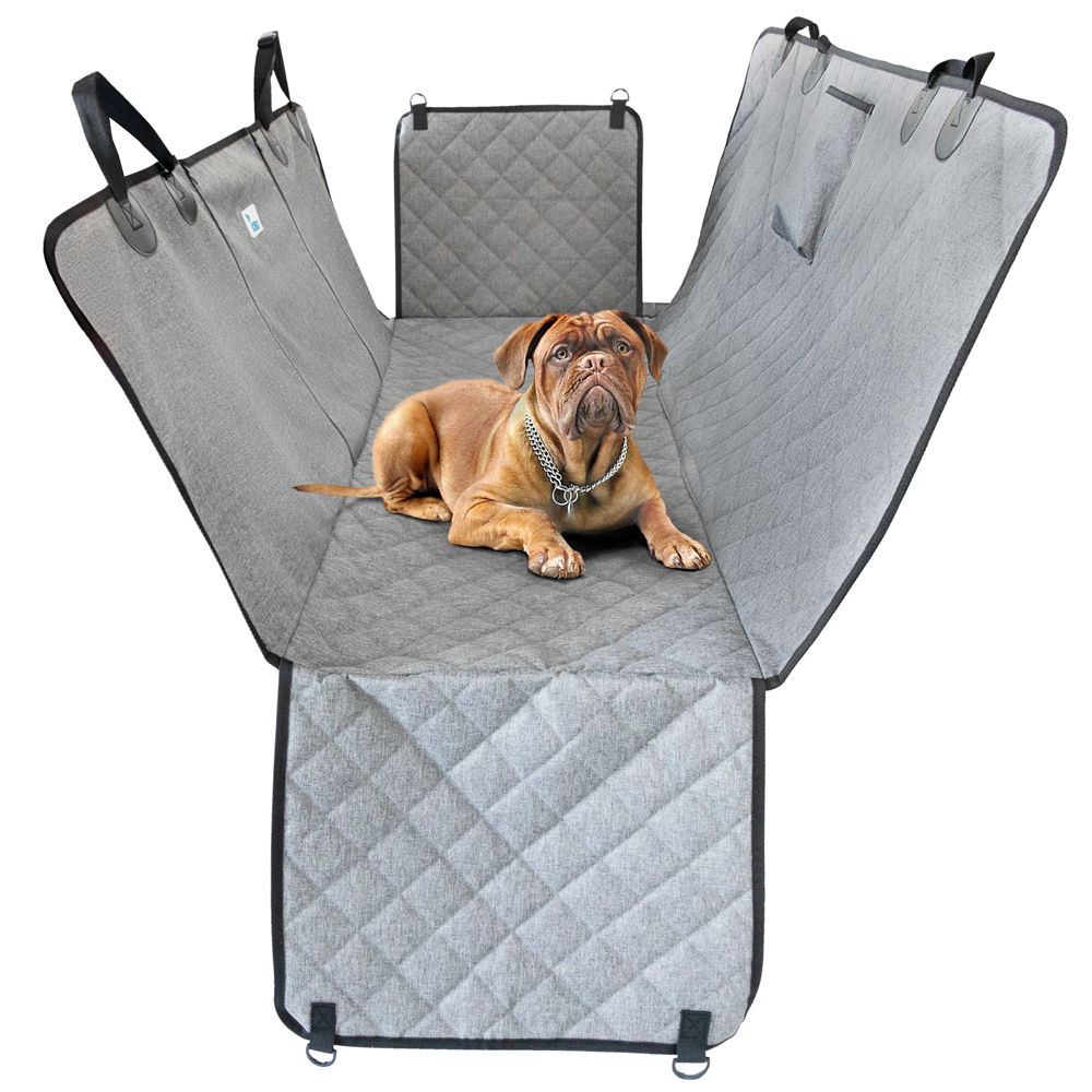 YOBO-E01 Kleine Dieren Opvouwbare Hond Hangmat Auto Seat Cover Draagbare Waterdichte Hangmat Pet Dog Car Back Seat Cover Voor Hond