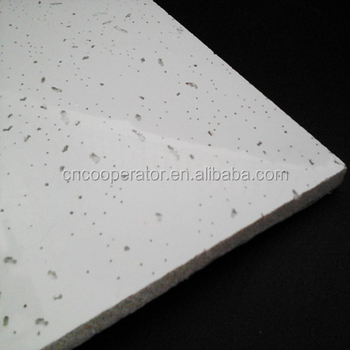 Acoustical Mineral Fiber Ceiling Board For Hospital, Hotel,meeting,office,etc  Public