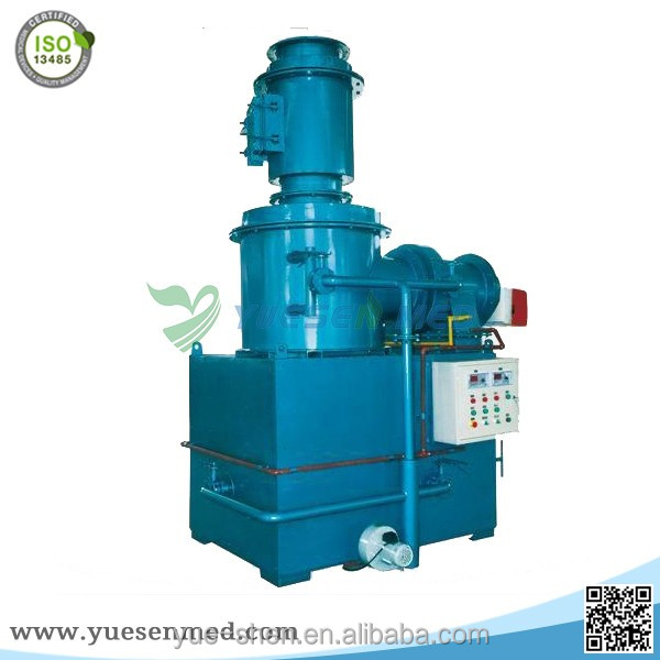 smokeless diesel medical pet incinerator