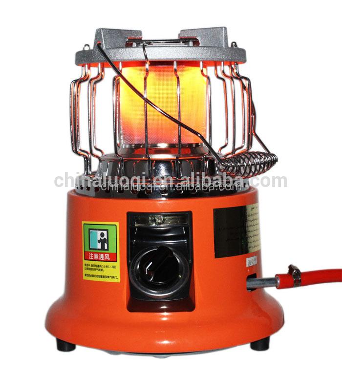 सस्ती कीमत पोर्टेबल गैस हीटर इनडोर छोटे से कमरे गैस हीटर और कुकर