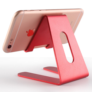 High quality metal aluminum desktop mobile phone stand holder for home