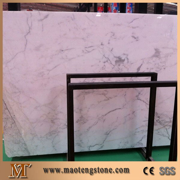 High Quality Snow White Importing Marble Stone Slabs