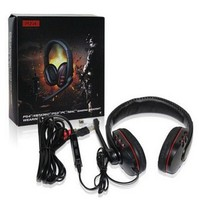 Luxury 180 Degree Rotation Wired Stereo Gaming Headset with Microphone 5 in 1 for ps3/ps4/xbox 360/pc/mac