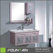 hangding smart design set bathroom pvc bathroom vanity
