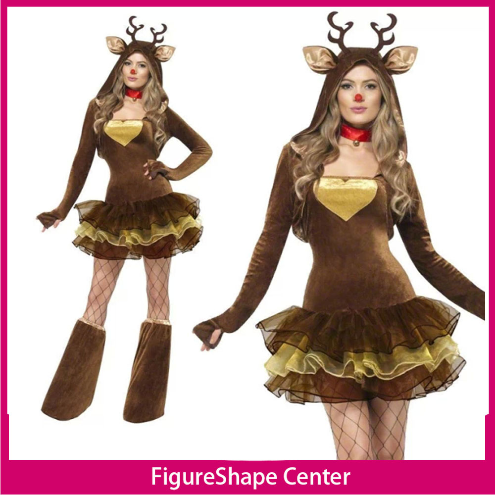 online kaufen gro handel woman deer costume aus china woman deer costume gro h ndler. Black Bedroom Furniture Sets. Home Design Ideas
