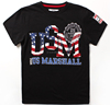 Top quality t-shirt flag usa custom t shirt screen printing t shirt logo t shirt