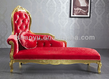 european style fabric royal chair/european style lounge chair/antique chaise lounge : old chaise lounge - Sectionals, Sofas & Couches