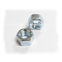 hdg zinc plated DIN934 2h unc hex nut
