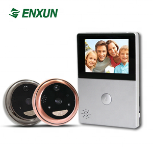 ABS Material and Door Eye Product name doorbell camera video peephole