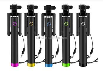 handheld selfie stick monopod tripod for iphone 4 5 6 6s plus i6s samsung not. Black Bedroom Furniture Sets. Home Design Ideas