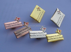 Singapore Health Quality Service Award collar pins