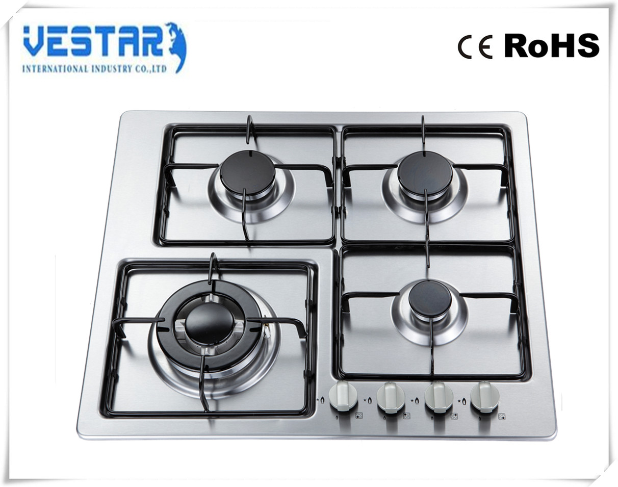 hot sale kitchen appliance 4 burners gas range / cover plates stove cooker
