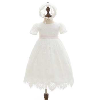8c14fa58c Infant Baby Girl Birthday Party Dresses Toddler Princess Baptism ...
