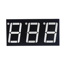 High quality 3 digit for audio equipment led display red 0.56inch 7 segment display