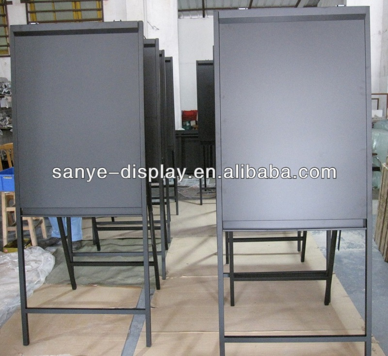 181*74cm size iron poster a stand