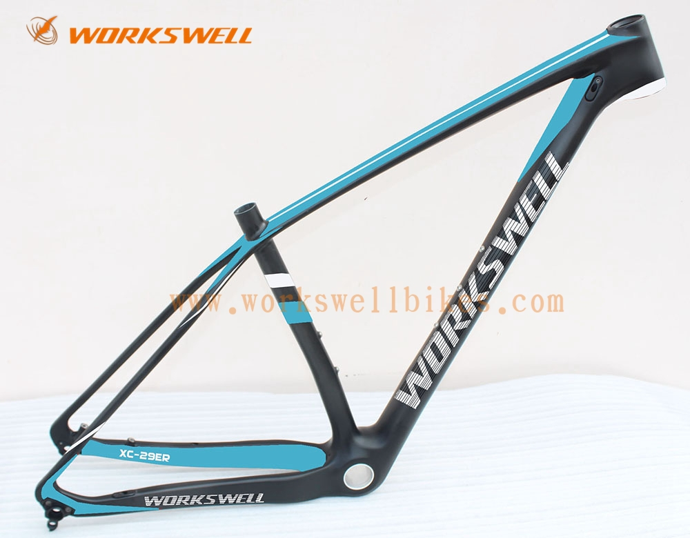full carbon bike mtb frame mtb bike frame passed en14766. Black Bedroom Furniture Sets. Home Design Ideas