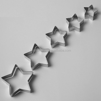Food grade Stainless Steel star shape Mousse Mold Cake Mould
