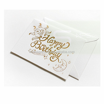 Best wishes design recycled paper happy birthday greeting card best wishes design recycled paper happy birthday greeting card printing reheart Image collections