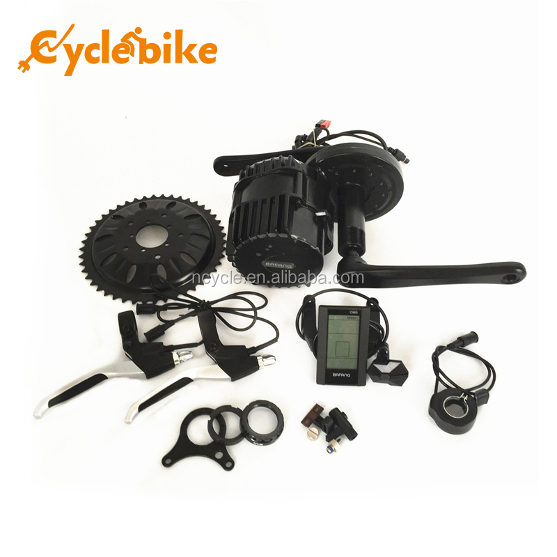 48v 1000w powerful ebike conversion kit mid drive motor ebke kit
