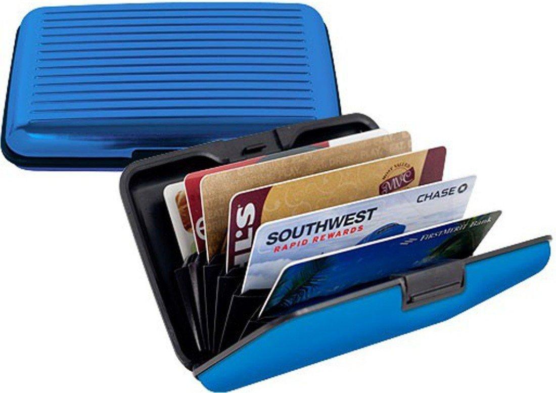 PURSHO Aluminium Security Wallet for Credit Card Debit Card ATM Card for Men