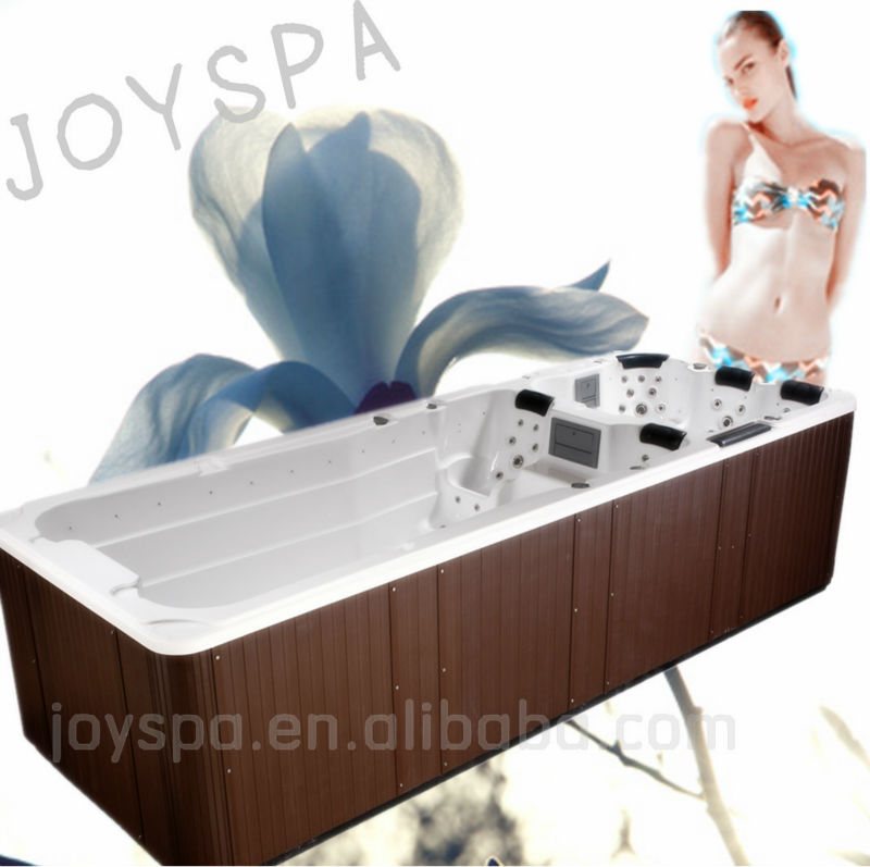 2013 Summer Top 5 Luxury Outdoor Balboa System Massage Endless dual zone swimming pool