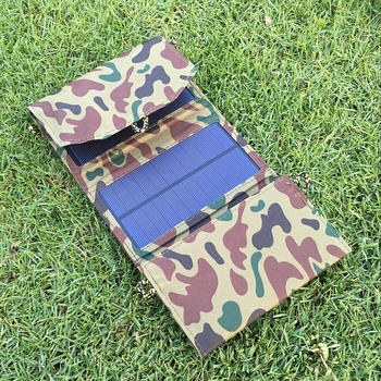 6W solar charging  solar charging board mobile phone tablet mobile power