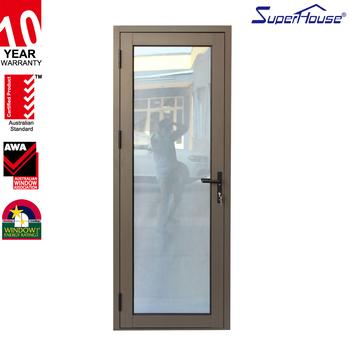 Australia Standard Office Entrance Glass Door Aluminium Glass ...