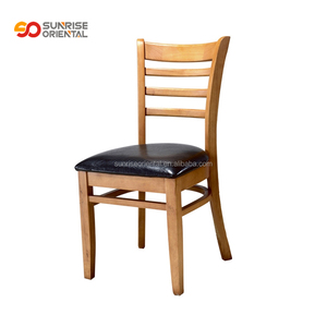 restaurant dining chair wood frame commercial American standard furniture