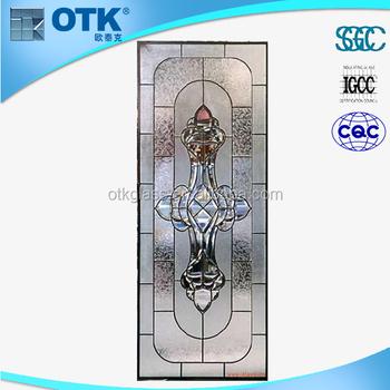 decorative broken glass/decorative glass door stickers