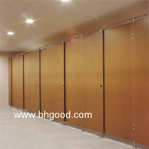 Toilet Cubicle Door; Formica Shower Toilet Cubicles; Used Bathroom  Partitions