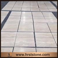 Cheap white travertine tiles pavers