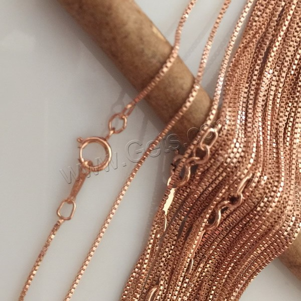 14k chain price Filled necklace gold color plated chain
