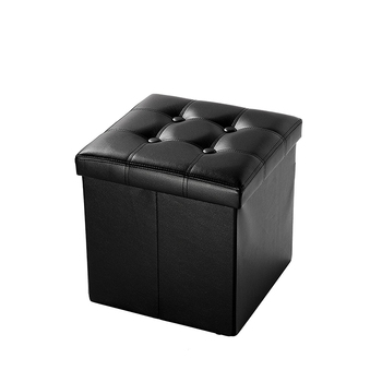 Awe Inspiring Faux Leather Padded Tufted Folding Cheap Square Storage Box Ottoman Buy Cheap Square Storage Box Ottoman Rattan Storage Ottoman Wheeled Storage Dailytribune Chair Design For Home Dailytribuneorg