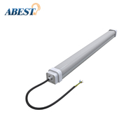 Warehouse led batten lighting 40W IP65 led tube light fixture T8 replacement 40W 12V 24V 36V dc led tube light