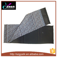 Double Layer Men Scarf Long Printing