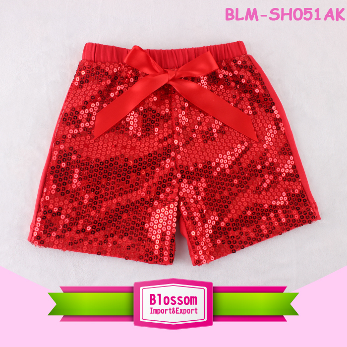 2018 Summer wear sequin shorts for baby kids, multi-color new fashion boutique harem shorts baby