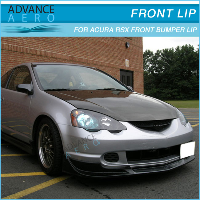 For Acura Rsx Mug Style Front Bumper Lip Spoiler Poly Urethane - Acura rsx bumper